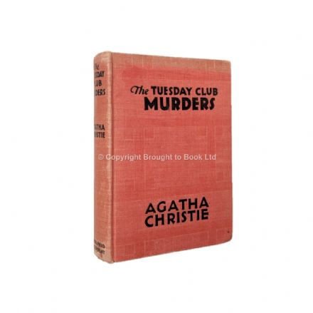 The Tuesday Club Murders by Agatha Christie First Edition Dodd Mead & Company 1933